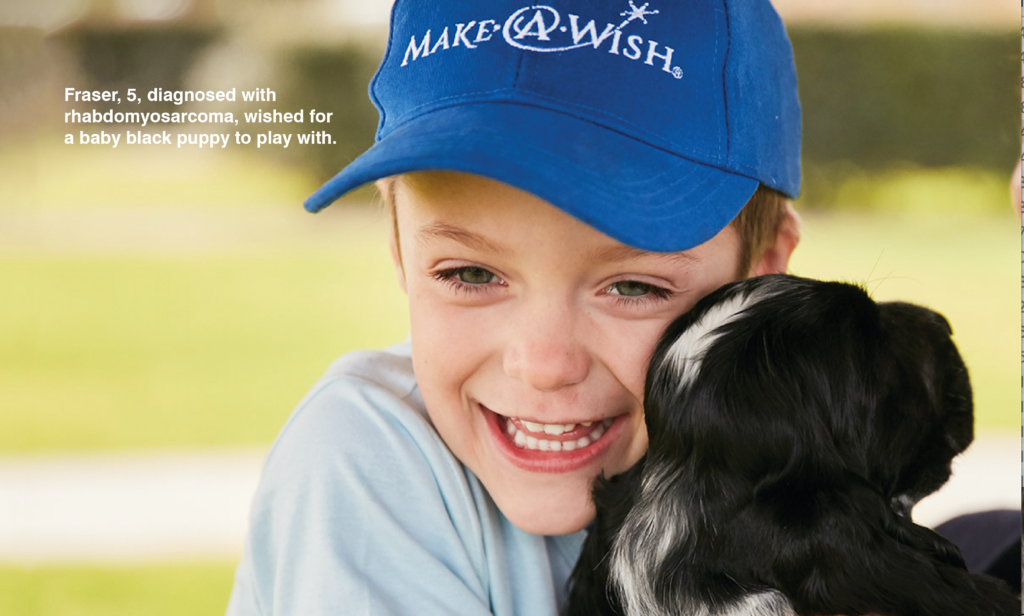 Barry Plant has raises over $100,000 for Make-A-Wish Australia