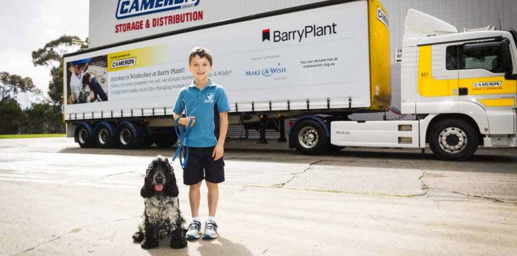 "Barry Plant Group raises $100,000 in annual ""Wishtober"" initiative"