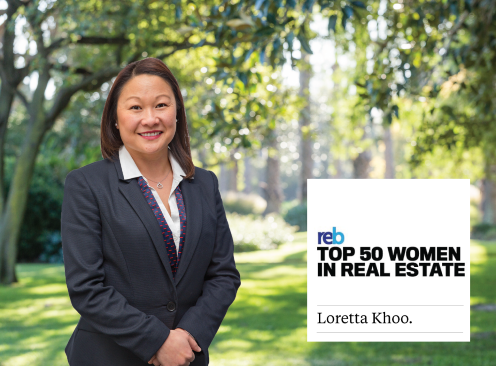 Loretta Khoo ranked as one of the top women in Real Estate