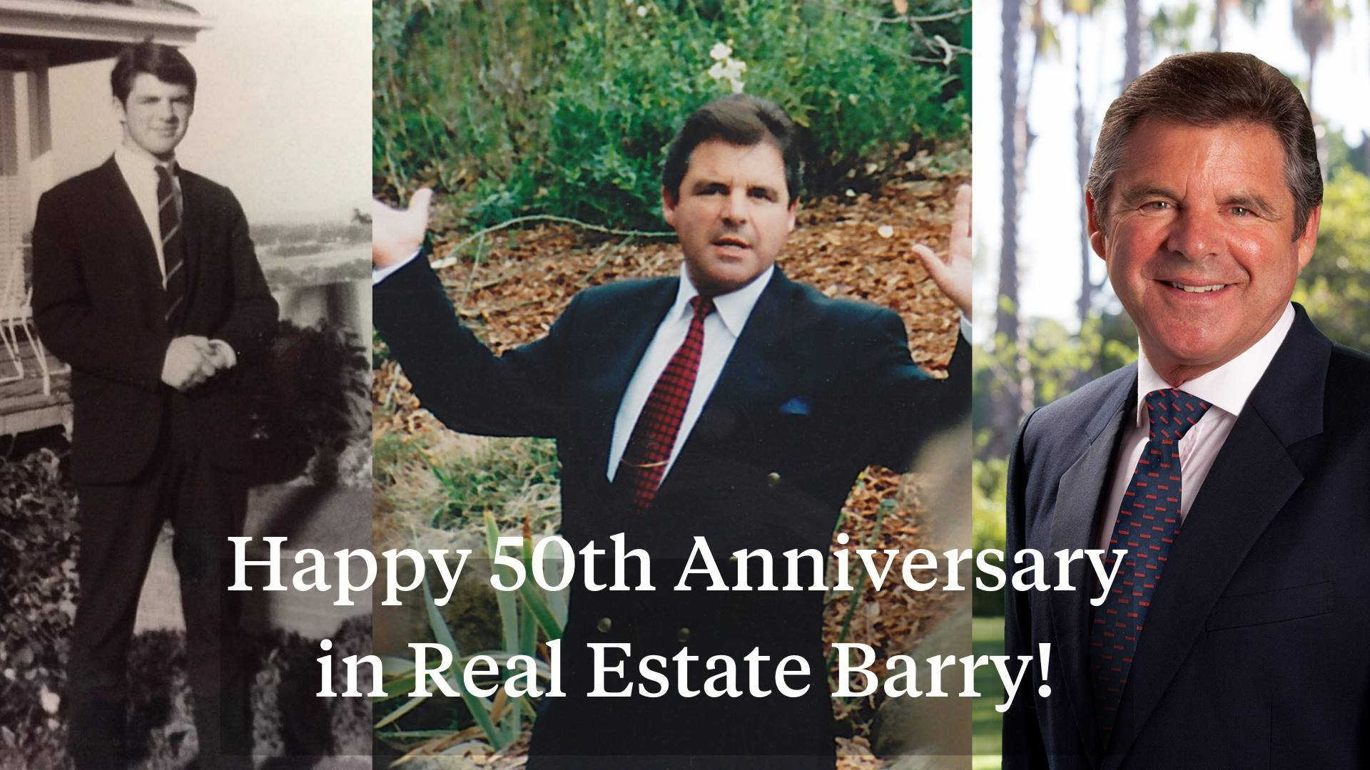 Happy 50th anniversary in real estate Barry!